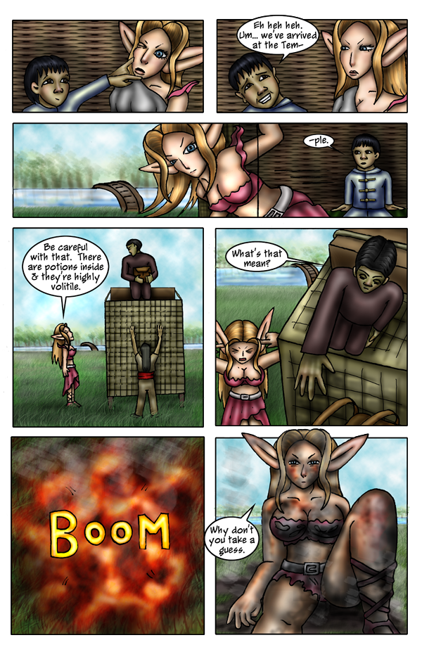 Pg 21: Waking up the Wrong Way