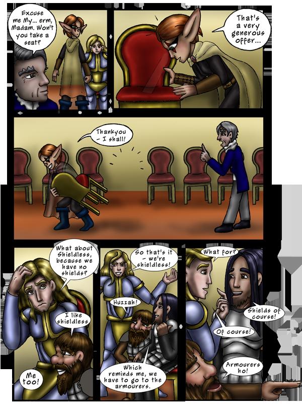 Pg 19: Armourers Ho!