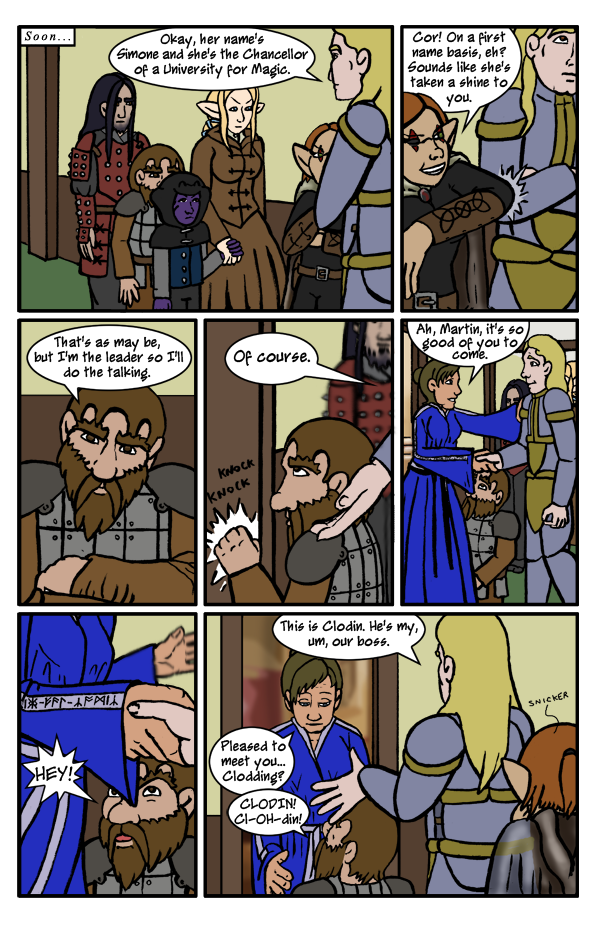 Comic of Epic Fail - Page 50: On with the Plot
