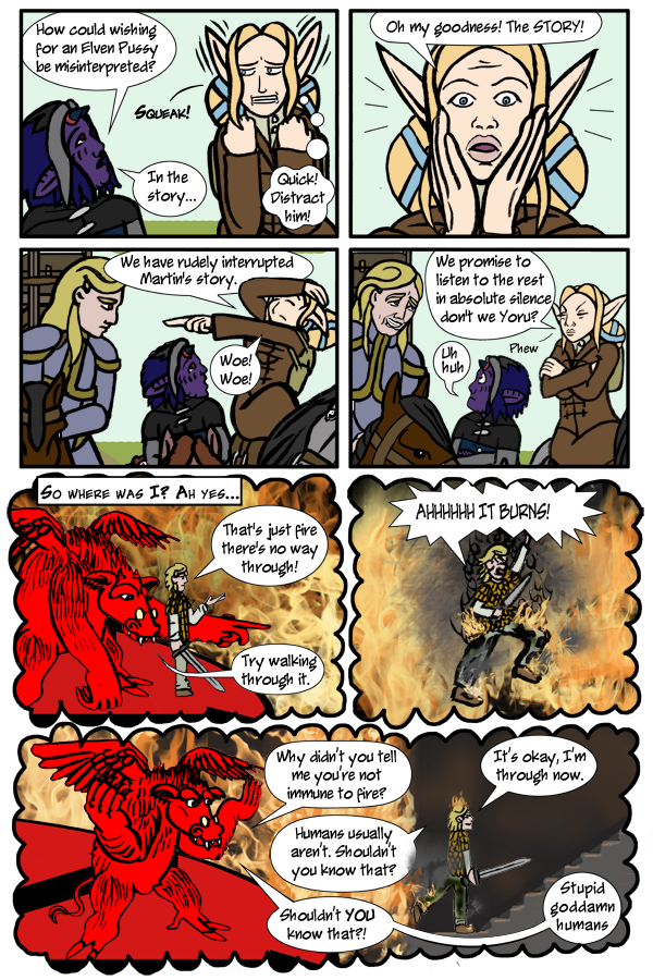 Pg 86: Oh Look! A Distraction!
