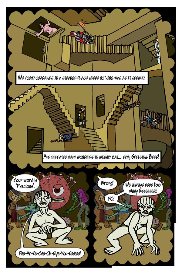 Pg 87: Spelling Bees (the new Insult Swordfighting?)