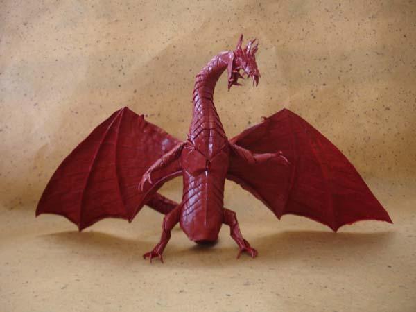 origami zoanoid dragon ver 2