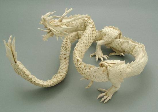 Ryujin 3.5 origami dragon