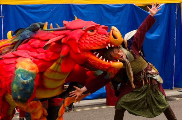 Animatronic Dragon Epico the Dragon