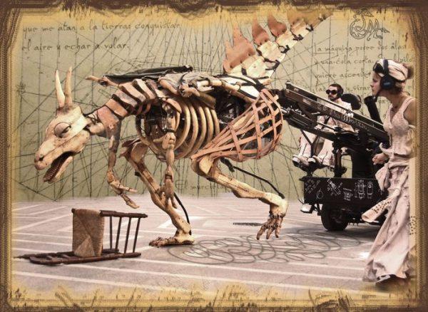 animatronic dragon Lo MONSTRE