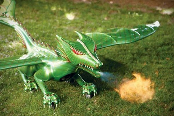 animatronic dragons mythic beast